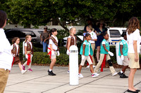 2019 Girl Scouts flag ceremony