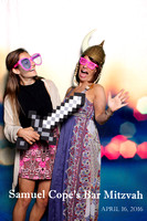 Samuel Cope Barmitzvah - Photobooth