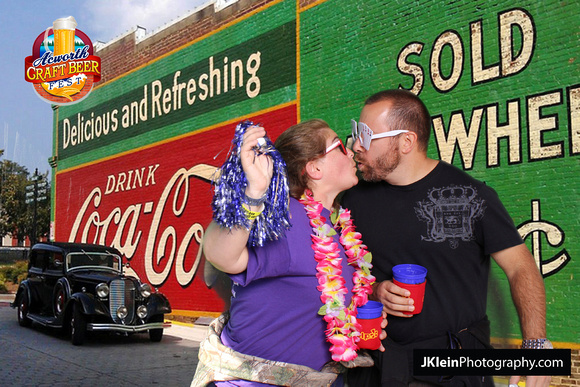JKlein Photography | Acworth Craft Beer Festival Photo booth