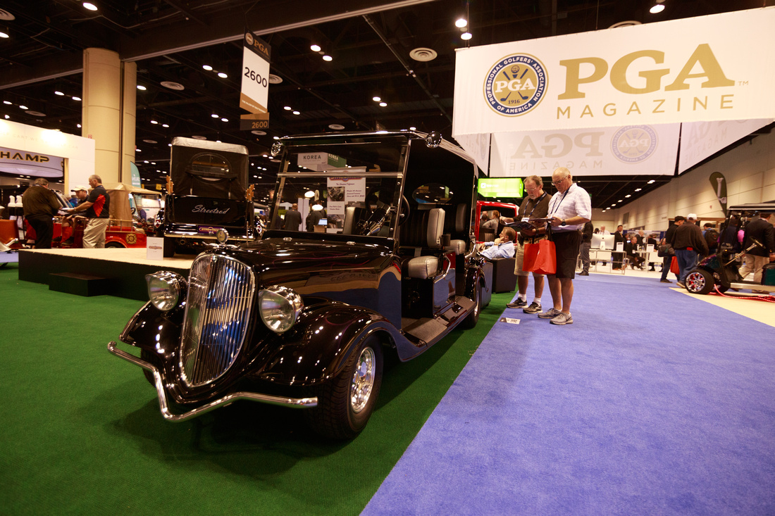 PGA Merchendise Show, Orange county convention Center, StreetRod Golf Carts