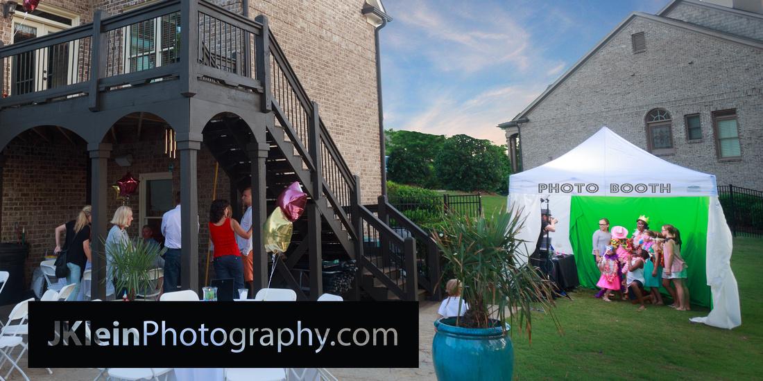 Atlanta outdoor Event festival photo Booth  trade show