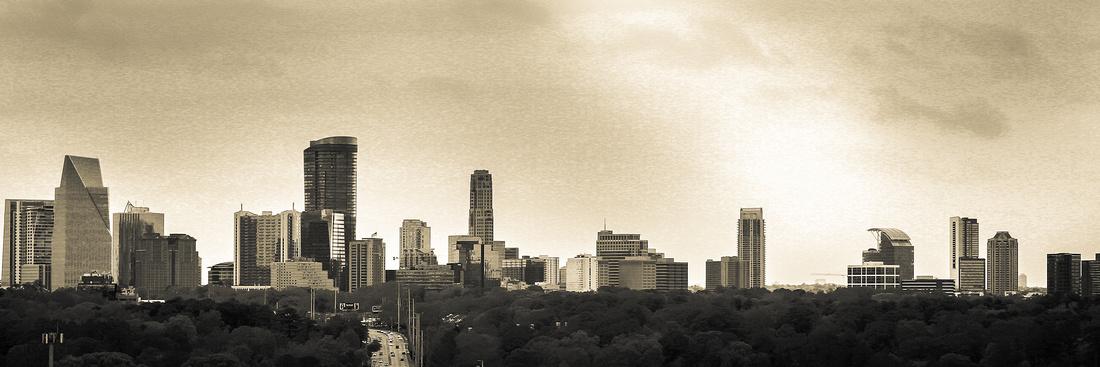 buckhead Atlanta Skyline.
